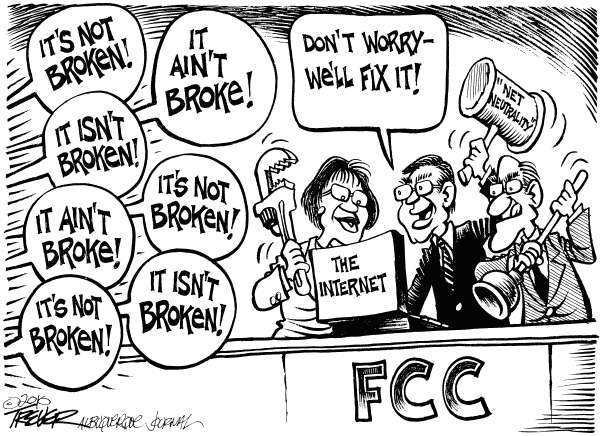 from International Liberty's page on foibles of FCC's 'Net Neutrality' (click)